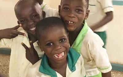 Le chef d'Otinibi remercie lesdonateurs deFoodforPeople