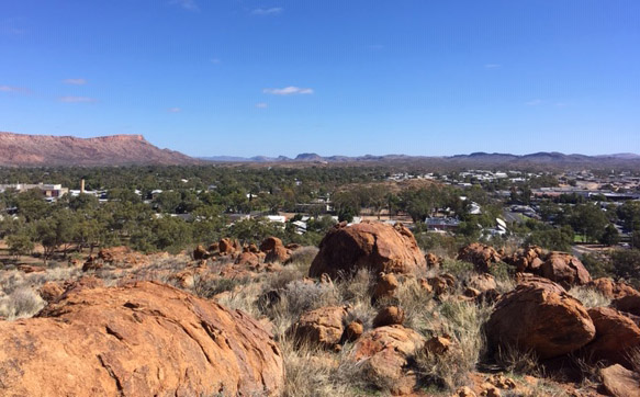Commit2Change uses the Peace Education Program to help clients in Alice Springs in the remote desert of Australia