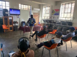 Peace Education Program facilitators are essential service providers in South Africa, helping during COVID-19