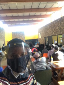 Peace Education Program facilitators are essential service providers in South Africa, taking safety precautions during COVID-19