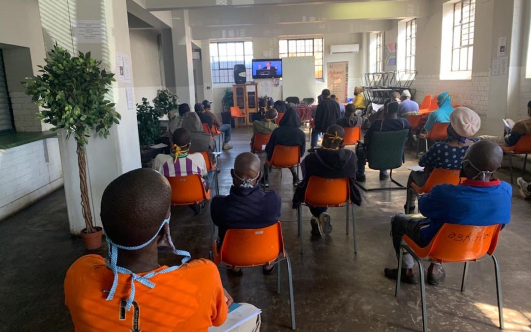 The Peace Education Program is an essential service in Johannesburg