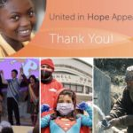Thanks for supporting the United in Hope appeal.