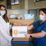 Cesvi remercie la Fondation Prem Rawat pour lui avoir fourni des masques et du matériel d'urgence.