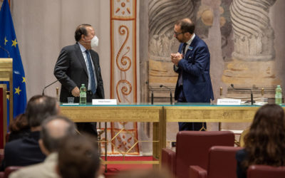 Prem Rawat Meets with Italian Leaders to Consider Peace Education Program in Correctional Facilities