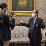 Italian news media covered Prem Rawat and the Peace Education Program at the Italian Senate