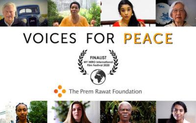 """O Festival de Cinema MY HERO Escolhe""""Vozes pela Paz"""" como Finalista"""