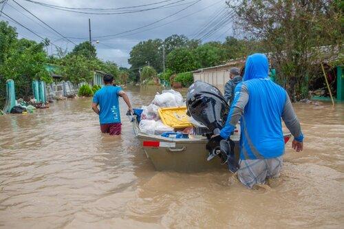 Hurricanes Iota and Eta caused massive flooding