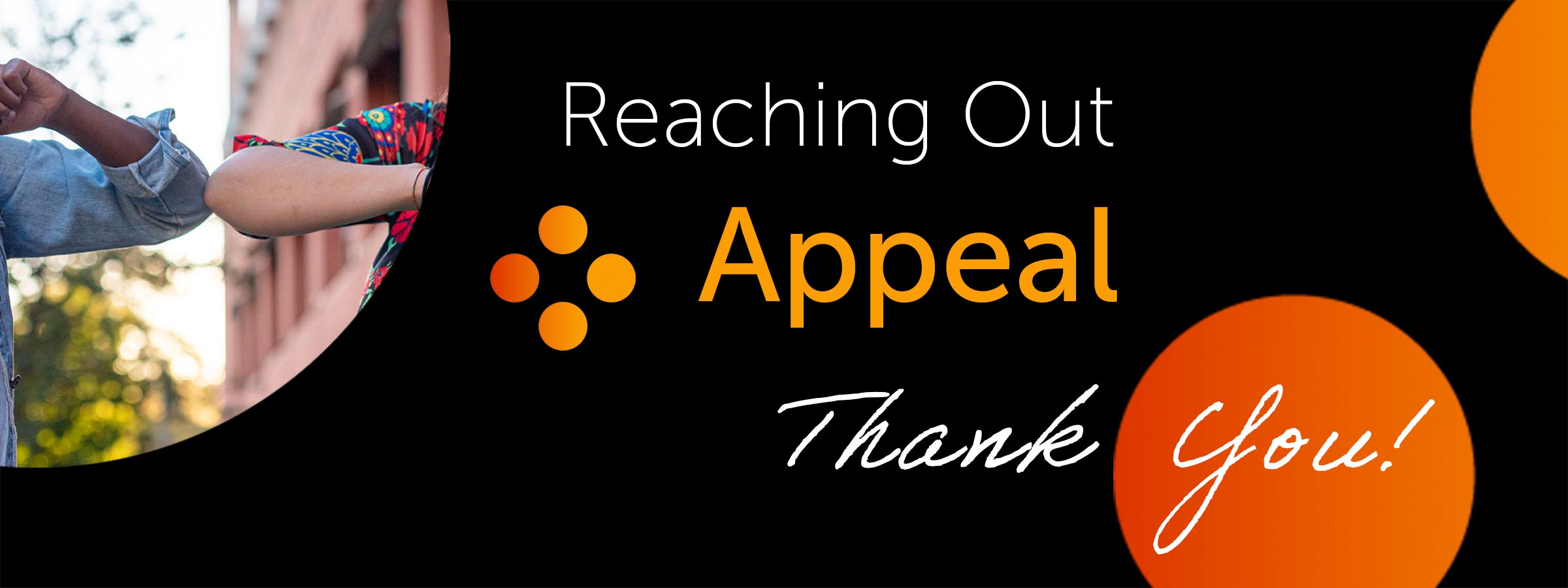 TPRF Reaching Out Appeal Thank You!